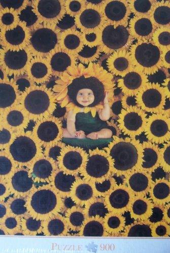 Anne Geddes 900 piece Jigsaw - Sunflower Baby by Blatz