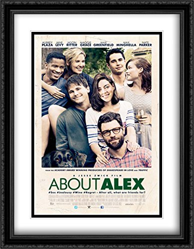 About Alex 28x36 Double Matted Large Large Black Ornate Framed Movie Poster Art Print