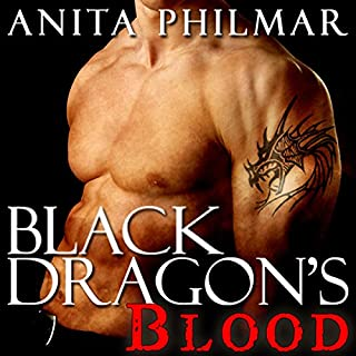 Black Dragon's Blood audiobook cover art