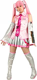 Milica Books Vocaloid Sakura Miku Cosplay Costume