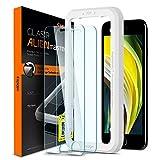 Spigen AlignMaster Protector Pantalla para iPhone SE 2020 y iPhone 8 y iPhone 7-2 Unidades