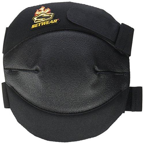 SetWear KNE-05-SFT Soft Knee Pads, Black by Setwear