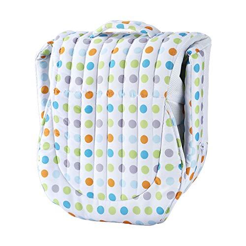HUYP Baby Sleep Pod Nouveau-né Voyage Multifonctionnel Lit Portable Bébé Isolation Lit 0-6 Mois De La Mode (Couleur : Blanc)