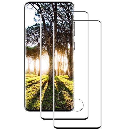 [2 Stück] Panzerglas für Samsung Galaxy S20 Plus Schutzfolie, Volle Abdeckung, 9H gehärtetes Glas, Anti-Kratzer, Anti-Öl, Galaxy S20 Plus Panzerglasfolie