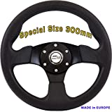 [RDi M1] DoradoTuning Volante Deportivo Ø 300 mm Rally/Deriva/Carrera/Universal/Negro