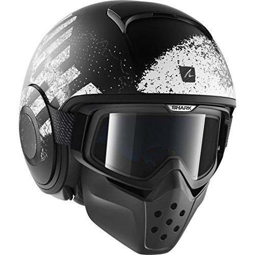 Shark–Helm Moto–Shark Raw Outcast matt KWA–M
