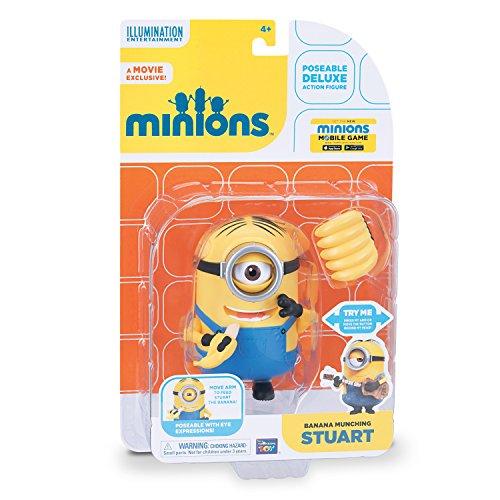 mondo - M32675 - Figurine Cinéma - Minion Stuart avec Banana