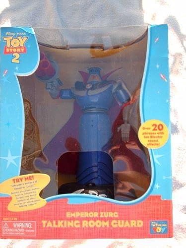 Toy Story Thinkway Toys Disney Pixar 2 Emperor Zurg Talking Room Guard