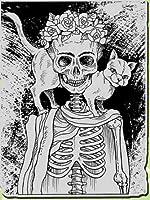 DIYスクラップブッキングフォトアルバム用の人間の骨格透明クリアシリコンスタンプシール装飾クリアスタンプA1082