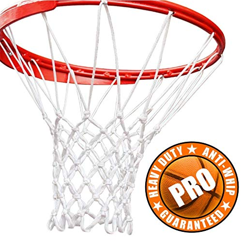 Review KKTECT Polyester Basketball Rack Net Bold and Durable Standard Basketball Frame Net Braided R...