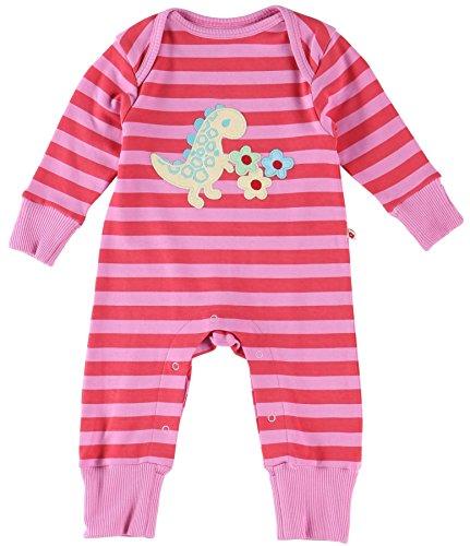Piccalilly Coton Bio Rose bébé Fille Dinosaure Applique pour Femme - Rose - 18 Mois