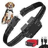 Advanced Anti-Bark Dog Collar, Adjustable Stop Dogs Excessive Barking Collars, Harmless & Humane