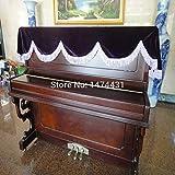 Clavier Piano Couverture Dust Cover,Housse de protection pour piano...