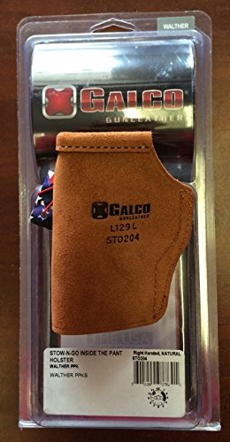 Galco Stow-N-Go Inside The Pants Holster RH Walther PPK and PPKS