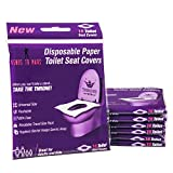 Venus To Mars Disposable Toilet Seat Covers – 70 Flushable Toilet Seat Covers for Kids,...