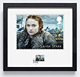 Game of Thrones n3133 Sansa stark gerahmt Stamp Print