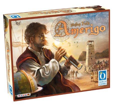 Queen Games 61141 - Amerigo, Familien Strategiespiel