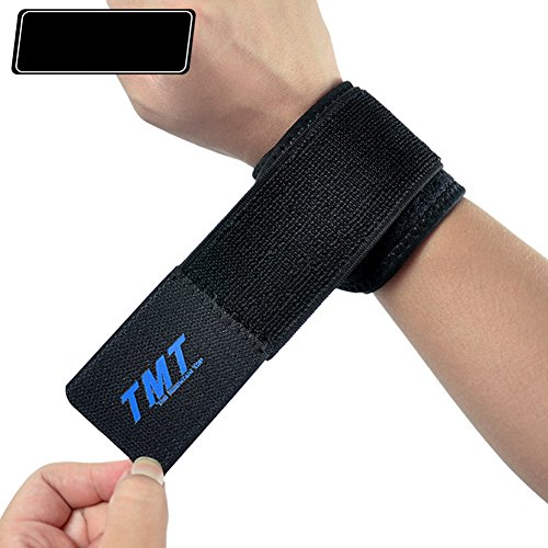 TenMet Unisex Wrist Protector Wrist Guard for Fitness Basketball Tennis Badminton Leisure Sport