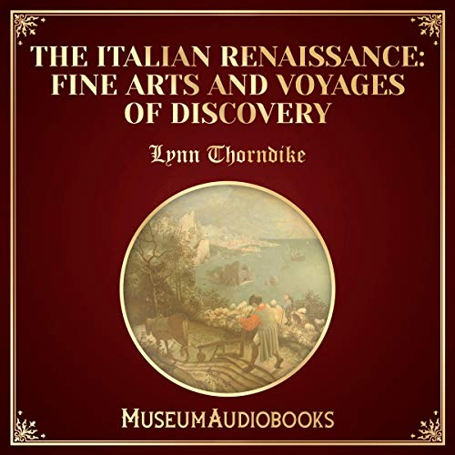 『The Italian Renaissance: Fine Arts and Voyages of Discovery』のカバーアート