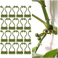 100 Stks Zelfklevende Kliminstallatie Ondersteuning, Duurzame Plant Klimmen Muur Armatuur Clips, Groene Wijnstok Clip...