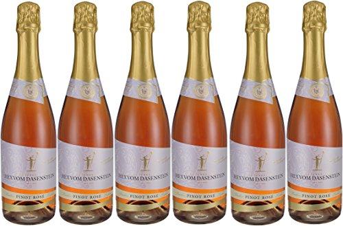 Hex vom Dasenstein Kappelrodeck Pinot Rosé Sekt trocken b.A. (6 x 0,75L)