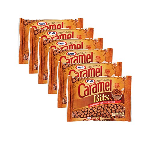 Kraft Caramel Bits, 11oz Bag, 6 pack