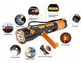 W'rangal 9 en 1 Multifuncin de emergencia de emergencia de seguridad de rescate herramienta de...