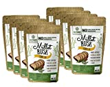 Multi-Millet Rusk - Curry Leaf - No Maida or Sugar No added flavours Preservative Free - Pack of 8