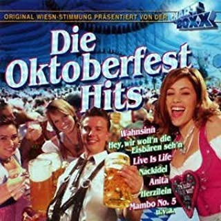 Chartboxx Die Oktoberfest- Hits (Cd Compilation, 40 Tracks)