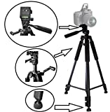 60' Pro Tripod with Case for Sony Alpha A6000 ILCE-6000L ILCE-6000