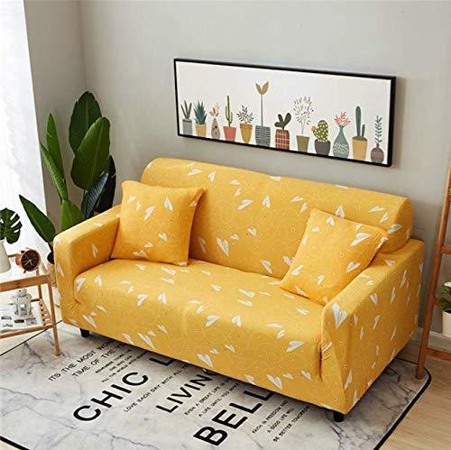 RKZM Universele bankhoes voor stoel, fauteuil, hoekbank, stretch, elastische bankhoezen, voor woonkamer, 3-zits, 190-230 cm