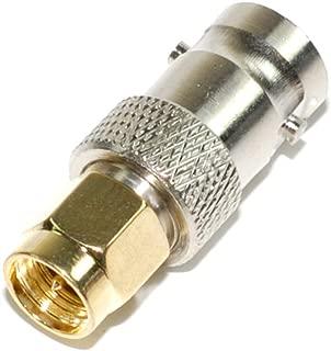AEcreative CN-3 SMA to BNC Antenna coaxial RF Connector Adapter for Yaesu Standard Hroizon Handheld Radio FTA-750L FTA-750 FTA-550L FTA-550 FTA-450L HX890 HX150 HX210 HX300 HX380 HX400 AR-DV10 FT-2DR