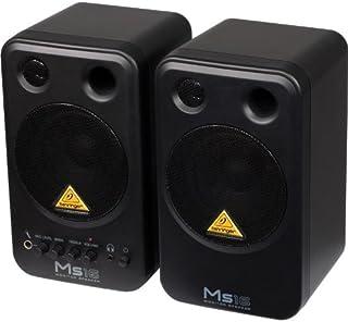 Behringer MS16Juego par Altavoces Monitor Activos de Estudio (2x 8W RMS, de 2Vías, blindaje magnético, RCA)
