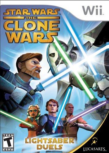 Star Wars the Clone Wars: Duelos sabre de luz - Nintendo Wii