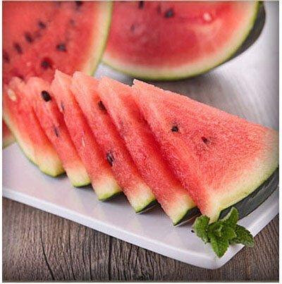Mixtes rares Graines de pastèque chinois juteux fruits délicieux melon d'eau Plantes Bonsai pot pour jardin Décor 40 pcs/sac 6