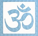 Stencil by The Bodhi Tribe- OM Yoga Stencil For DIY Painting Projects