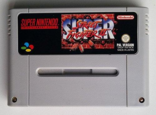 SNES Spiel: Super Street Fighter II 2 NUR DAS EINZELNE SPIEL-MODUL (für SNES Super Nintendo, PAL, deutsch)