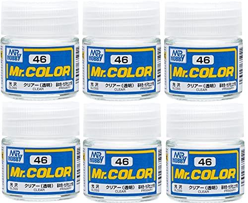 GSIクレオス Mr.カラーC46クリアー(6本セット)