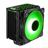 Jonsbo CR-201 RGB 120 Millimeter Cpu Kühler RGB PC Fan für Intel und AMD CPUs Kühlung Effiziente Prozessoren, Hohes Kühlpotential und Stylisches Design