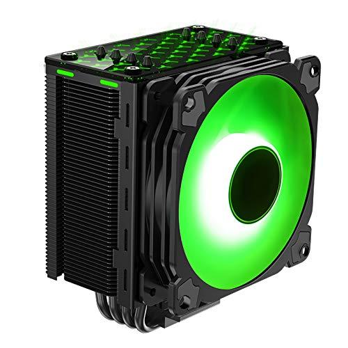Jonsbo - CR-201 RGB 120mm Cpu Kühler RGB PC Fan für Intel und AMD CPUs Kühlung Effiziente Prozessoren, Hohes Kühlpotential und stylisches Design