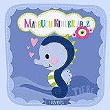 Malbuch Kinder ab 2 TIERE: Süßes Malbuch für Mädchen und