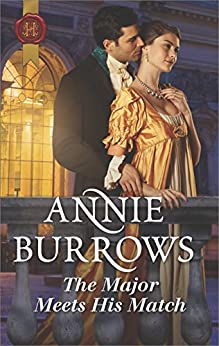 The Major Meets His Match (Brides for Bachelors Book 1) by [Annie Burrows]