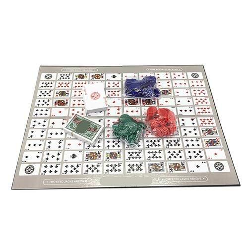 LIUCHANG Schachbrett Spieltisch Spiel Muster Big Chess Board Spiel Englisch und Arabisch Sequenz Spiel Chess Family Game Spielzeug liuchang20
