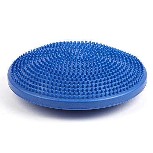 PhysioRoom Junior Kids Air Stability Wobble Board Cushion (35cm) - Improve Balance & Coordination, Posture Trainer, ADHD Fidget Sensory Cushion, Encourges Active Sitting, Fitness Exercise Workout