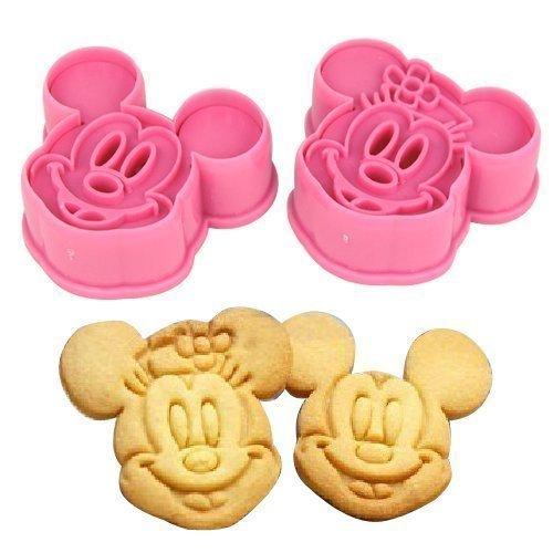 Accessotech 2p. Mickey & Minnie Découpe De Forme Pour Gâteaux Pâtisserie Gâteau Décoration En Pâte À Sucre Artisanats Moule Plats À Four