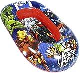 - Canotto Avengers Marvel Gonfiabile/Gommone per Bambini - Misura 120 x 80 cm - Facile da Gonfiare e Sgonfiare - PVC Termosaldato Resistente - Mare -