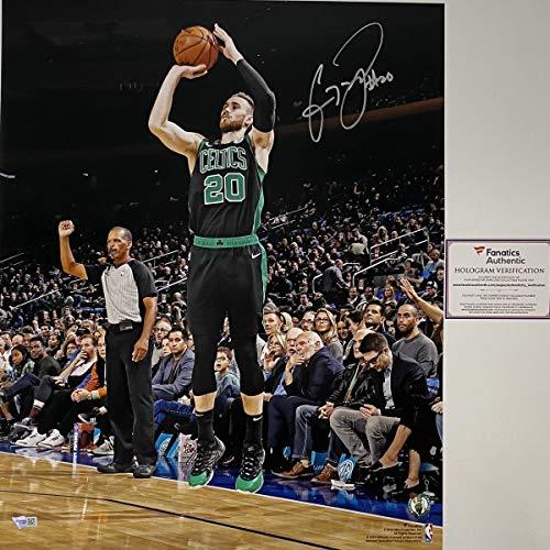 Autographed/Signed Gordon Hayward Boston Celtics 16x20 Basketball Photo Fanatics COA