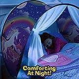 Traumzelt Bettzelt Spielhaus Zelt Spielhaus Erscheinen Dream Tents Drinnen Kinder Spielen Zelt Kinder (Einhorn) Licht ist Nicht Enthalten - 3