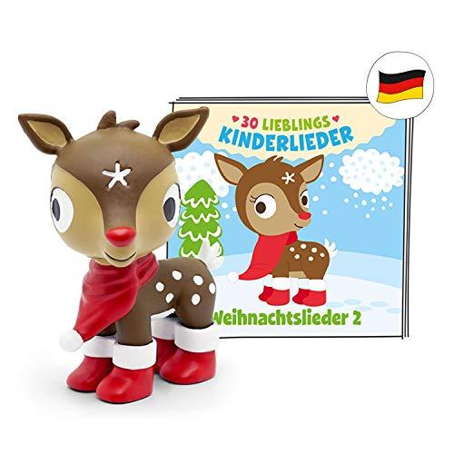 tonies Hörfiguren für Toniebox - 30 Lieblings Kinderlieder - Weihnachtslieder 2 - ca. 70 Min. - Ab 3 Jahre -DEUTSCH
