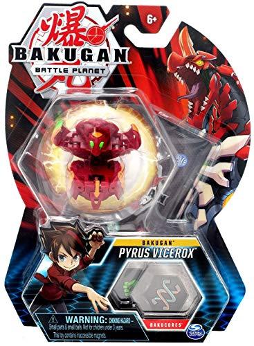 BAKUGAN Battle Planet 7,6 cm tall Collectible Transforming Creature - Pyrus Vicerox